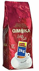 Gimoka QuotGran Barquot Roasted Coffee Beans 105 Ounces 3kg