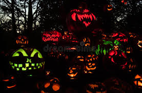 Roger Williams Pumpkin by Roger Williams Zoo Halloween Spooktacular Editorial Stock Photo