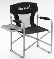 outdoor world sporting goods directors folding chair with side table