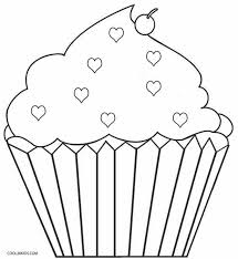 Hello Kitty Cupcake Coloring Page Could Be A Handy Little Sit I