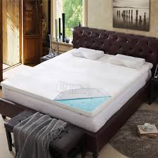 bedroom brown leather tufted headboard design ideas with