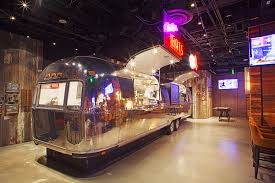 100 Refurbished Airstream The Still A Las Vegas Restaurant With An Trailer Kitchen