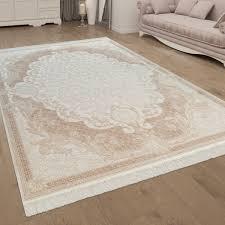 kurzflor teppich orientalisches design