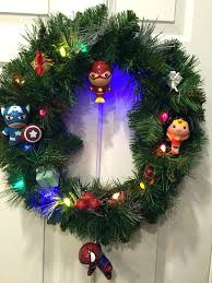 Target Tree Ornaments Superhero Wreath With Christmas Geek Decor Ideas Signs For Sign Decorations At Outdoor