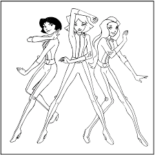6 Coloriage Totally Spies Clover 31274 Rafa Examples