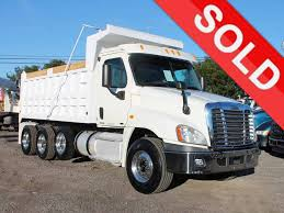 100 Tri Axle Dump Trucks 2011 FREIGHTLINER CASCADIA FOR SALE 2715