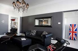 Black Leather Sofa Decorating Ideas by Black Living Room Furniture Decorating Ideas Cool Designs Ideas