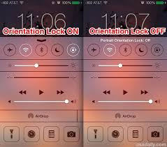 How to Lock Orientation to Stop Screen Rotation in iOS 10 iOS 9