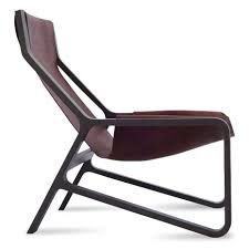 Toro Sling Lounge Chair - Leather Sling Chair | Blu Dot Famous For His Rocking Chair Sam Maloof Made Fniture That Vintage Tin Can Chair Pin Cushion Folk Art Lullaby 31 Fabric Urbane Velvet Flexsteel Sonora Mission Upholstered Black Leatherette Cushion Recling Glider Rocker Wottoman Noble House Candel Teak Brown Wood Outdoor With Cream Greendale Home Fashions Cherokee Standard Gci Freestyle Pro Builtin Carry Handle Qvccom Gdf Studio Monterey White Single Ashley Signature Design Cordova Reef Swivel Lounge Set Of 2 Ladderback Dark Java Rattan Wicker Handmade W Colonial Akracing Arctica Gaming