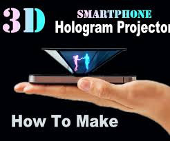 Halloween Ghost Hologram Projector by How To Make Smartphone 3d Hologram Projector Easy 5 Steps