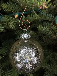 Christmas Tree Ideas Snowflake Glass Ornament With Diamond From Target