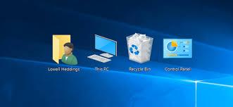 bureau windows 8 restaurer les icônes du bureau dans windows 7 8 ou 10