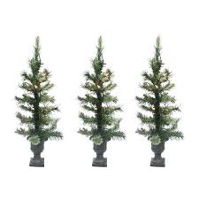 Northlight 2 Ft Pre Lit Cashmere Pine Artificial Christmas Tree With 20 Constant White