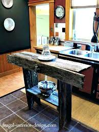 Exotic Farmhouse Style Kitchen Islands Island Simple Rustic Made Model 8