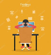 Cartoon Man And Freelance Design — Stock Vector © Jemastock #122805428 Freelance Programmer Coder Character Dude Work Stock Vector 100 Design Jobs Working From Home Freelancers News Topics Homefreelanceold Computer Books Objects On Set Flat Elements Office 207426172 Stunning Graphic Designer Photos Decorating Glamorous Wonderful Fresh At Best 3 22478 And In Workplace Fniture Concept Images Web