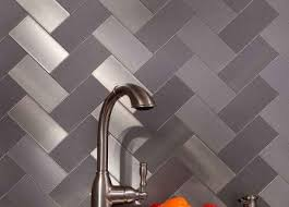 Herringbone Backsplash Tile Home Depot by Likable Herringbone Backsplash Tile Flooring The Home Depot