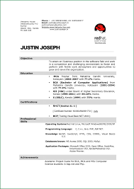 Bestume Format For Hotel Management Freshers Student Download Fresher Trainee Resume