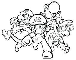 Luxury Idea Coloring Pages Peach Daisy Mario Baby Yoshi Print Yarn Page Full Size