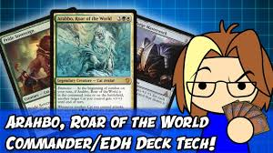 Premade Commander Decks 2017 by Arahbo Roar Of The World Commander Edh Deck Tech From Commander
