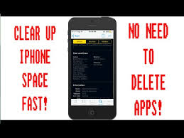 Clear iPhone Storage WITHOUT DELETING APPS 2016