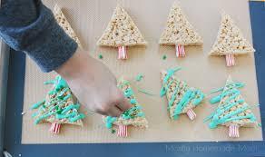 Rice Krispie Christmas Tree Ornaments by Christmas Tree Rice Krispies Treats Mostly Homemade Mom