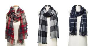 10 best plaid scarves in winter 2017 checkered plaid and tartan