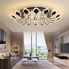2021 petal light simple modern led ceiling l