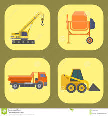 100 Trucking Equipment Construction Delivery Truck Vector Transportation Vehicle Construct