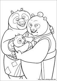 35 Kung Fu Panda 2 Printable Coloring Pages For Kids Find On Book Thousands Of