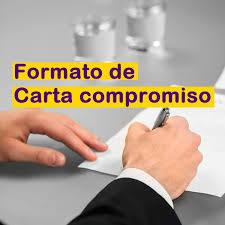 Formato De Carta Compromiso Auditoria Financiera