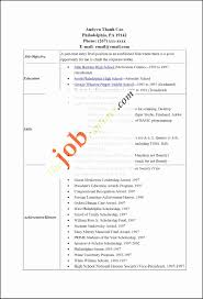 Resume Templates Little Work Experience Elegant Examples For College Students With No Free