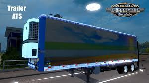 100 Euro Truck Sim Mods TRAILER AMERICAN TRUCK SIMULATOR BETA 122 ETS2 Mods Truck