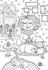 Click To See Printable Version Of Peppy In November Coloring Page
