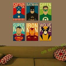 Superhero Room Decor Australia by Superhero Wall Stickers Australia The New Sticker Design