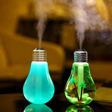 new usb led mini bulbs shape humidifiers air purifier aroma