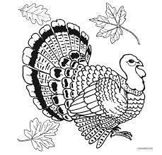 Free Turkey Coloring Pages Printable