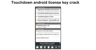 Touchdown android license key crack Google Docs