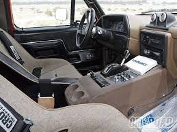 0910or 11 z 1989 ford bronco interior 660—495