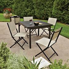 Aluminum Sling Stackable Patio Chairs by Amazon Com Member U0027s Mark Logan Sling 6 Piece Patio Set With