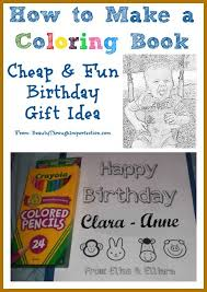 Coloring Book Cheap Birthday Gif Fresh How To Make Your Own