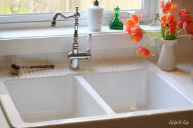 Overmount Double Kitchen Sink by Lilyfield Life Loving My Ikea Domsjö Sink