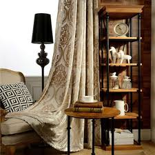 lucxus vorhang flanell gold design im wohnzimmer zu