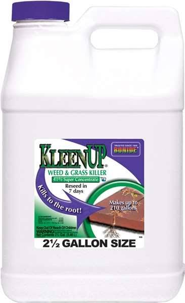 Bonide Products Kleenup Grass and Weed Killer - 41% Concentrate, 2.5gal