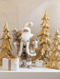 Balsam Hill Christmas Trees Complaints by Set Of 3 Gold Tabletop Christmas Trees Balsam Hill Australia
