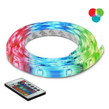 Lamp Shade Adapter Ring Home Depot by Bazz 10 Ft Multi Color Self Adhesive Cuttable Lighting With