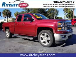 100 Used Trucks Melbourne Fl OneOwner 2014 Chevrolet Silverado 1500 LT In Port Orange FL