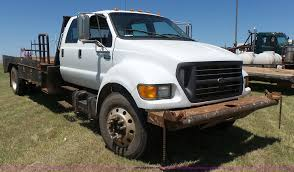 2000 Ford F650 Flatbed Truck | Item K3116 | SOLD! September ...