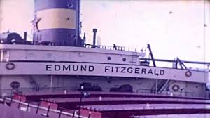 What Year Did The Edmund Fitzgerald Sank by Edmund Fitzgerald And Crew Rare Footage Youtube
