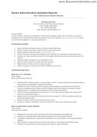 Example Of Resume For Administrative Assistant Medical Office