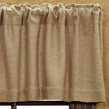Pennys Curtains Valances by Country Drapes And Curtains Burlap Natural Valance